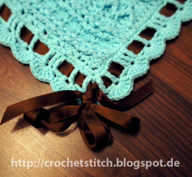 Crochet & Knitting Stitch: Babydecke \