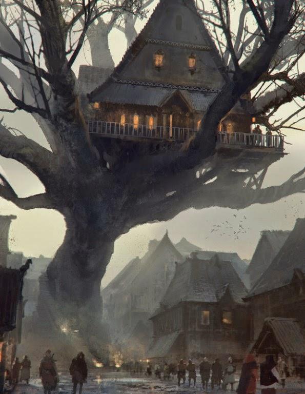 Symbaroum tree house