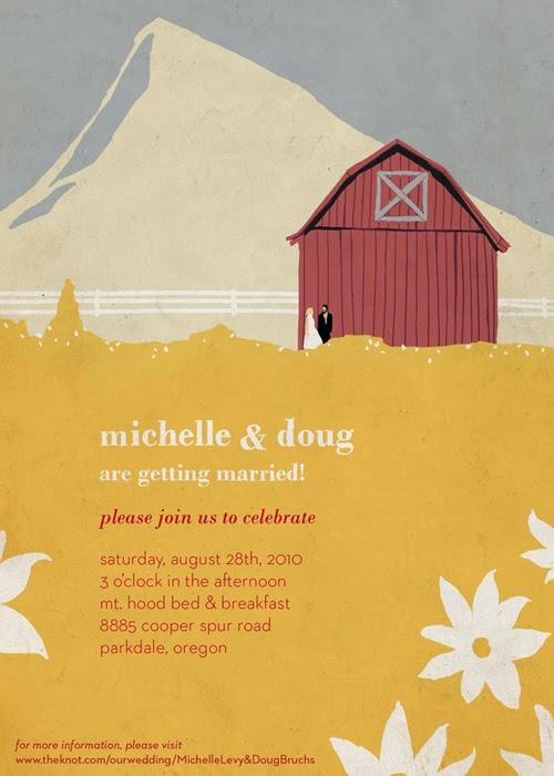 Thiệp cưới dạng Postcard lạ lẫm bắt mắt 10