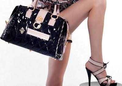 gizia siyah ayakkabi canta modasi 2013 Gizia Marka Yeni Trend Çanta Ayakkabı Modelleri