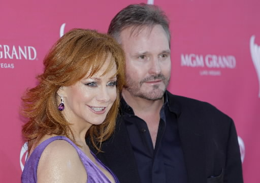 Reba McEntire with endearing, friendly, enigmatic, Husband Narvel Blackstock
