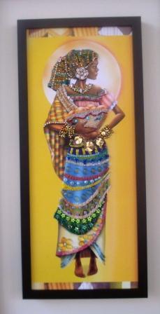 Negras Africanas Em Decoupage D