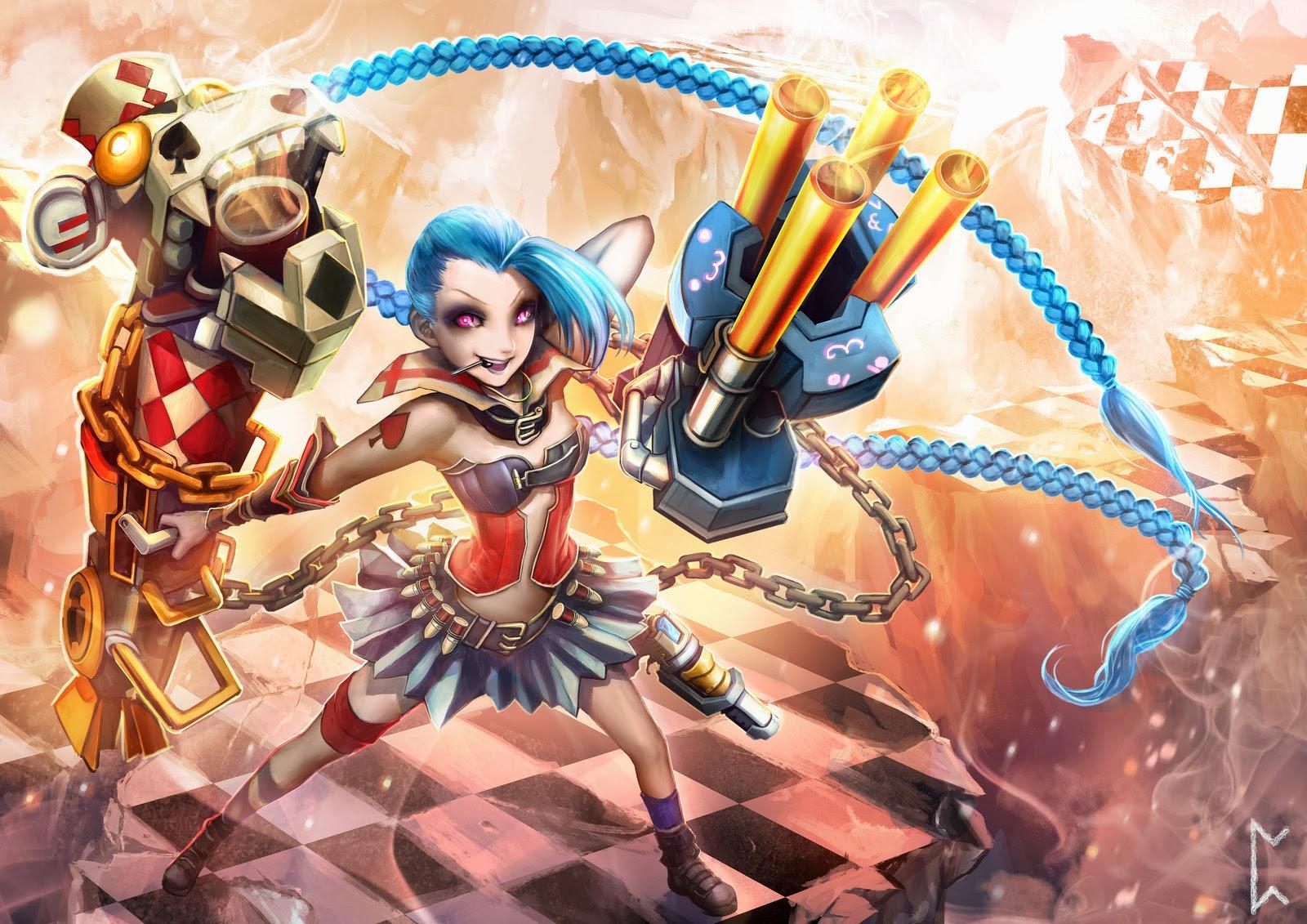 JinX League of Legends Wallpaper