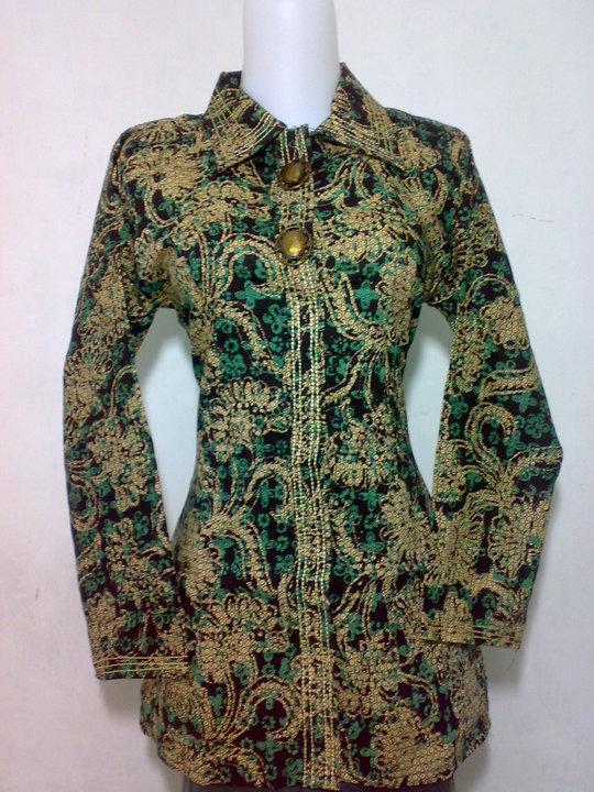 Model Baju Batik Modern Terbaru | hairstylegalleries.com
