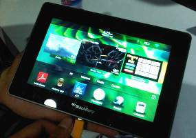 Tablet Blackberry 10 Siap  Hadapi iPad dan Android