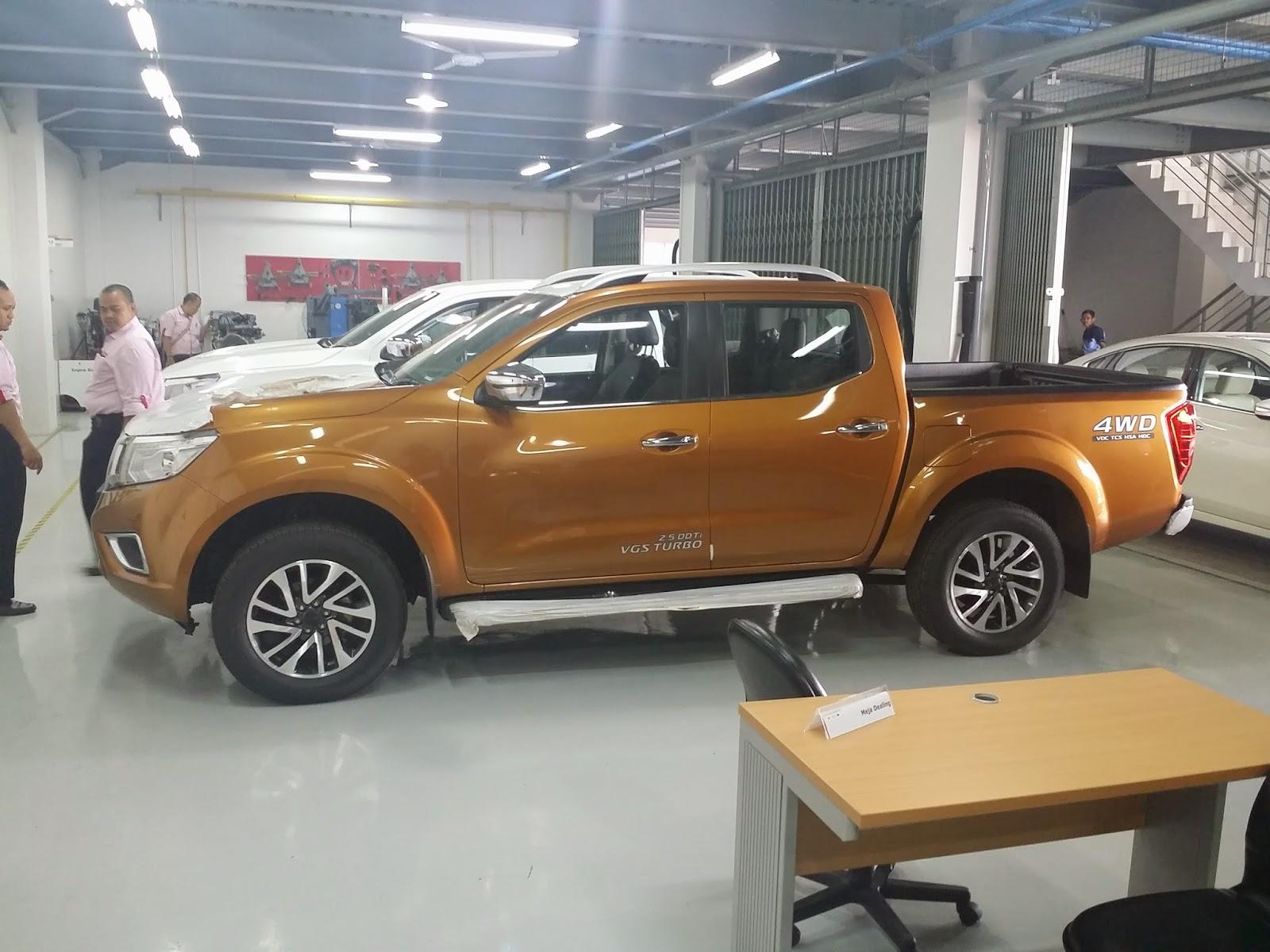 Nissan New Navara NP300 2015 VL SL