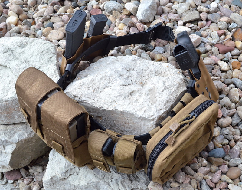 Tac Shield Gun Belt And Mag Pouch Review Beauteous Duty Belt Magazine Holder