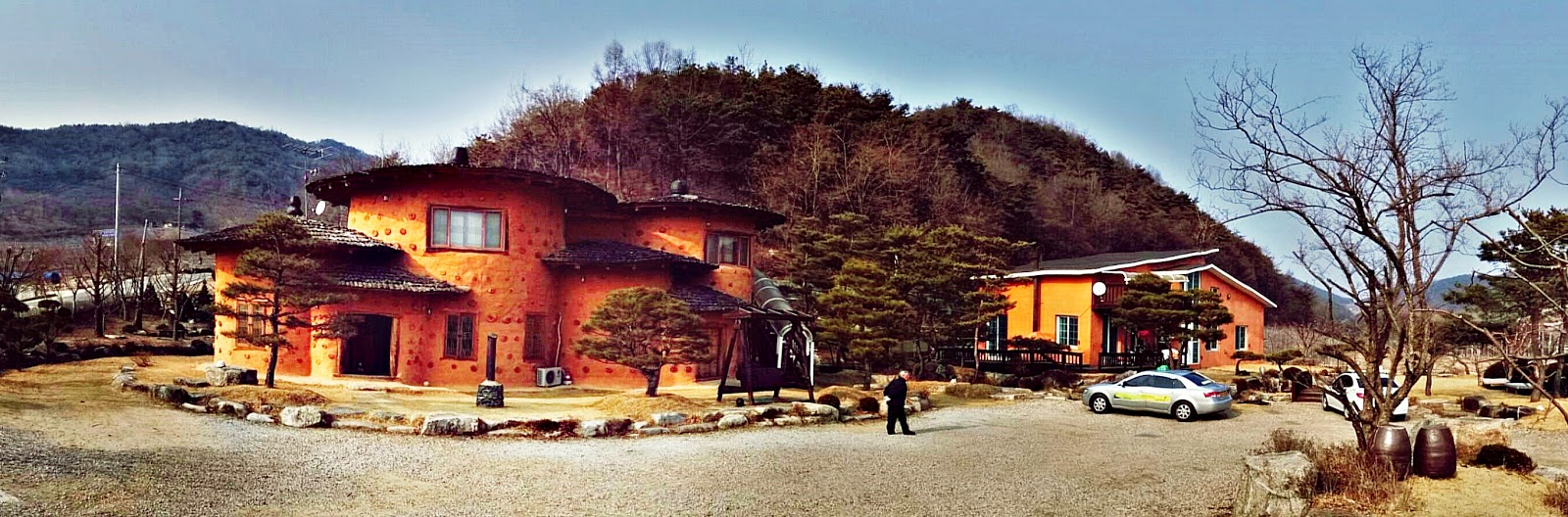 Yeongju Accommodation: Loess Pension 풍기 황토 펜션 | meheartseoul.blogspot.com