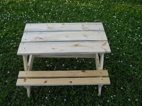Tim Misiora Woodworking Childrens Picnic Table - Cost of wooden picnic table