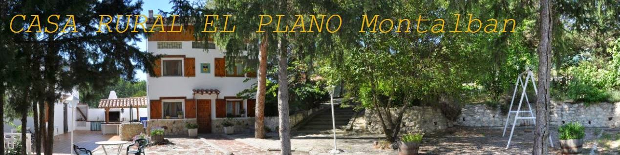 CASA RURAL EL PLANO Montalban