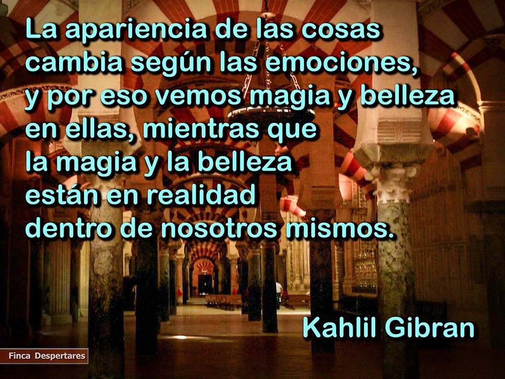 Finca Despertares - Kahlil Gibran