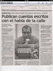 BARRUNTO EN DIARIO EL PERUANO