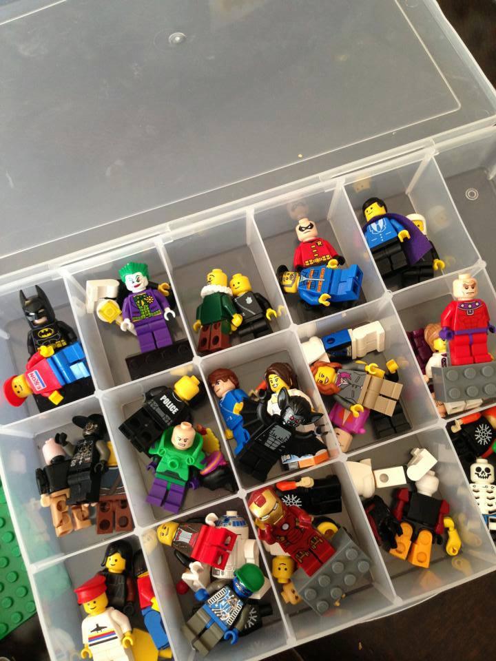 Lego mini figure swap at monkey fish toys in lionville for Monkey fish toys