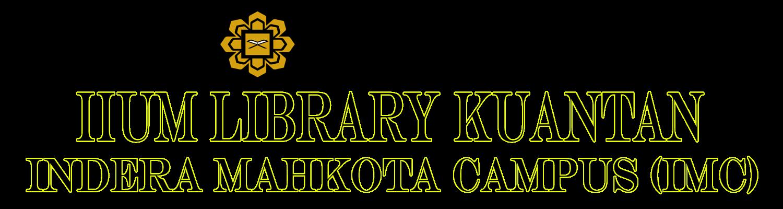IIUM Library Kuantan