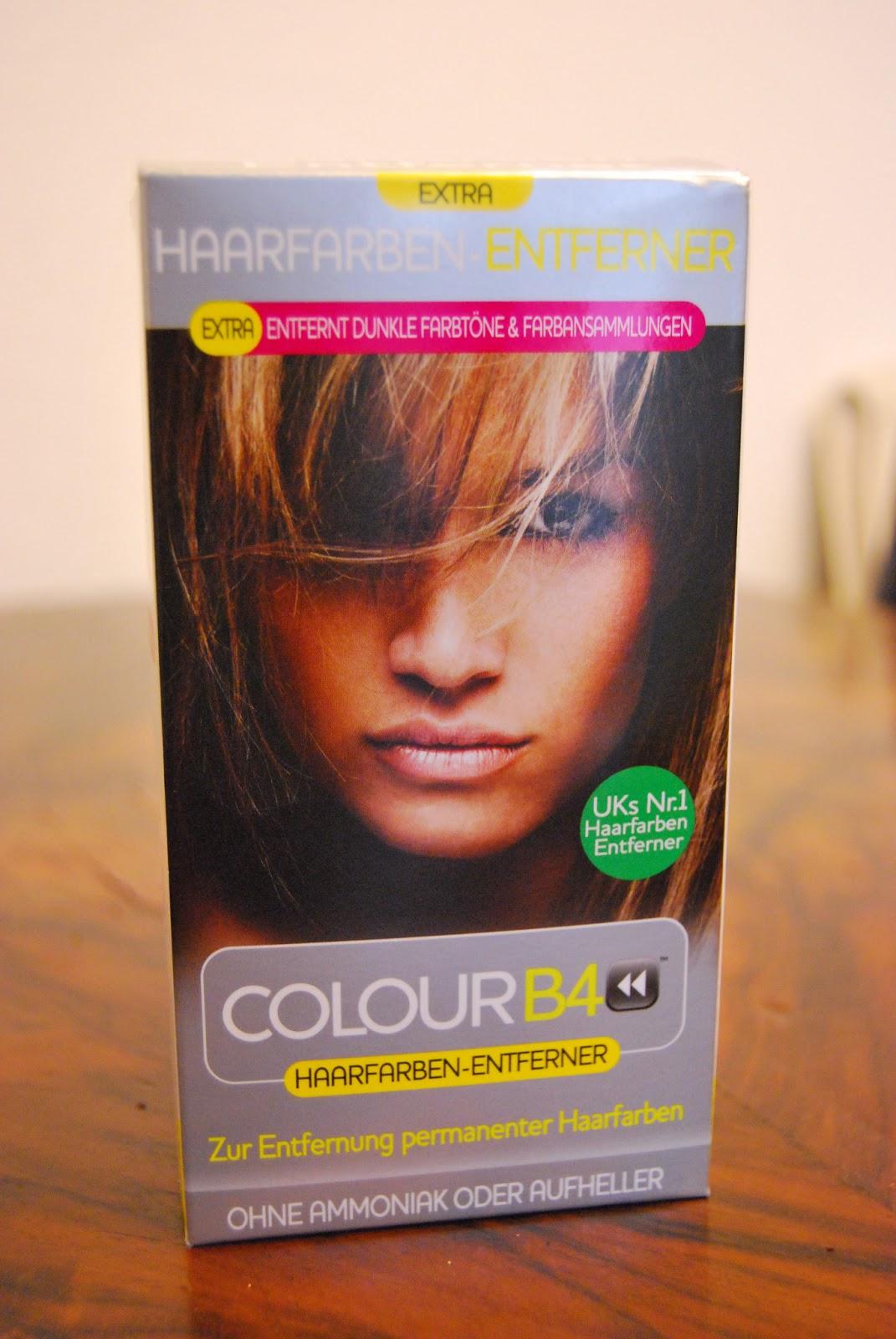 Entfarbungsmittel fur die haare