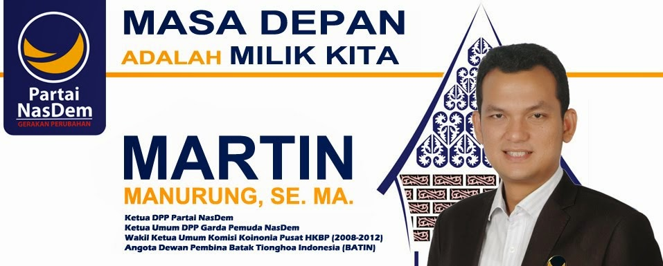 Martin Manurung, SE. MA.