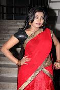 Sowmya glamorous half saree photos-thumbnail-13