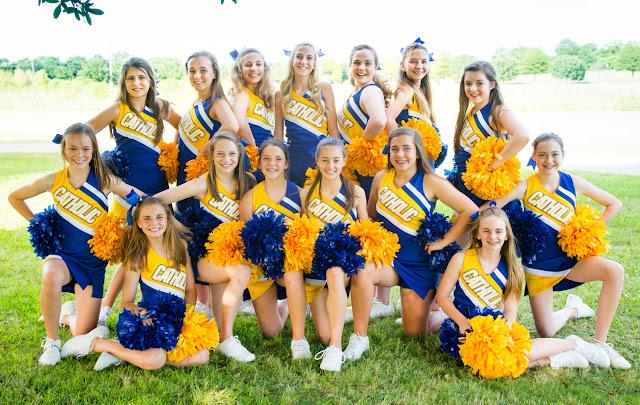 Montgomery Catholic's Cool, Tadlock and Weber Named All-American Cheerleaders 1