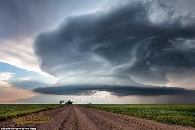 Ribut Supersel : Keindahan Yang Memusnahkan