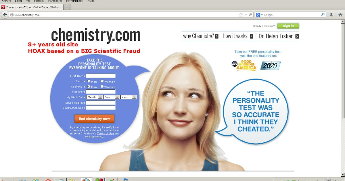 dating chemistry Matchcom, the leading online dating resource for singles search through thousands of personals and photos go ahead, it's free to look.