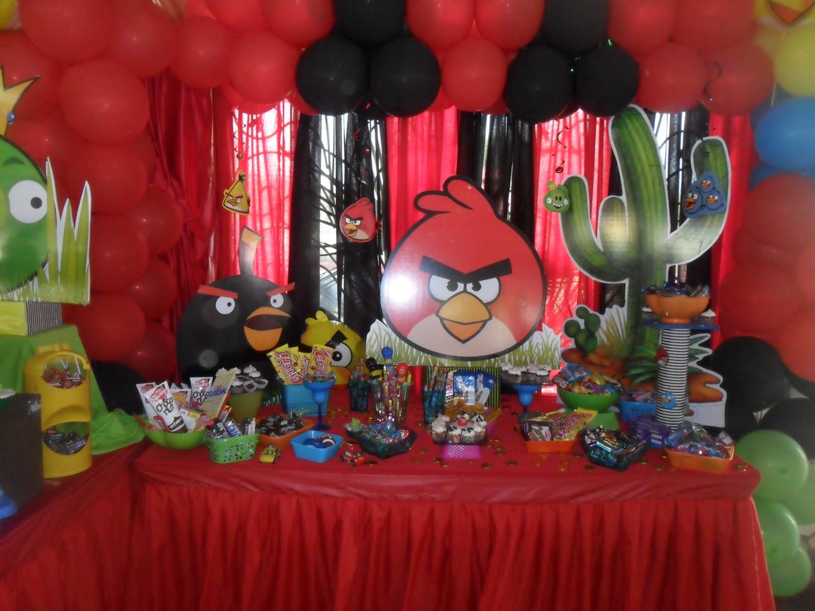 Castillos Eventos... de Ursula Newman: Fiesta Infantil ANGRY BIRDS