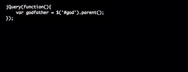 The Godfather. Movies {as code}.