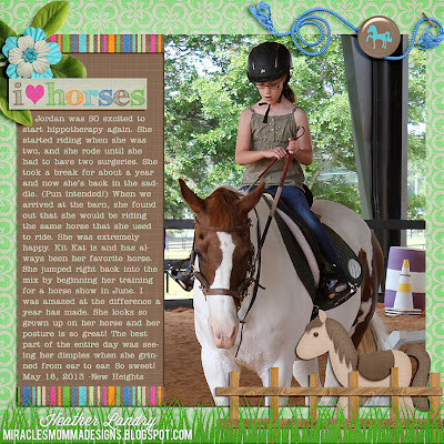 Horse Scrapbook Page_Ideas