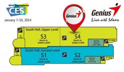 Genius Siap Pamerkan Produk Terbaru di CES 2014