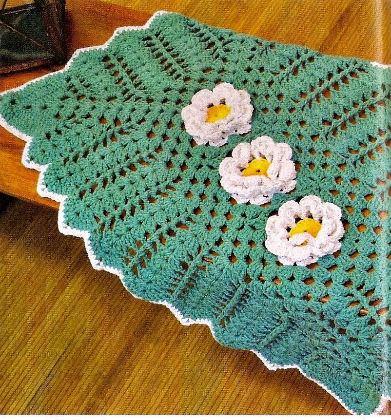 tapetes e flores em croche em croche com receita