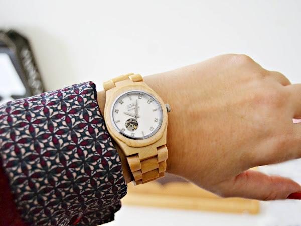 Review reloj de madera Jord