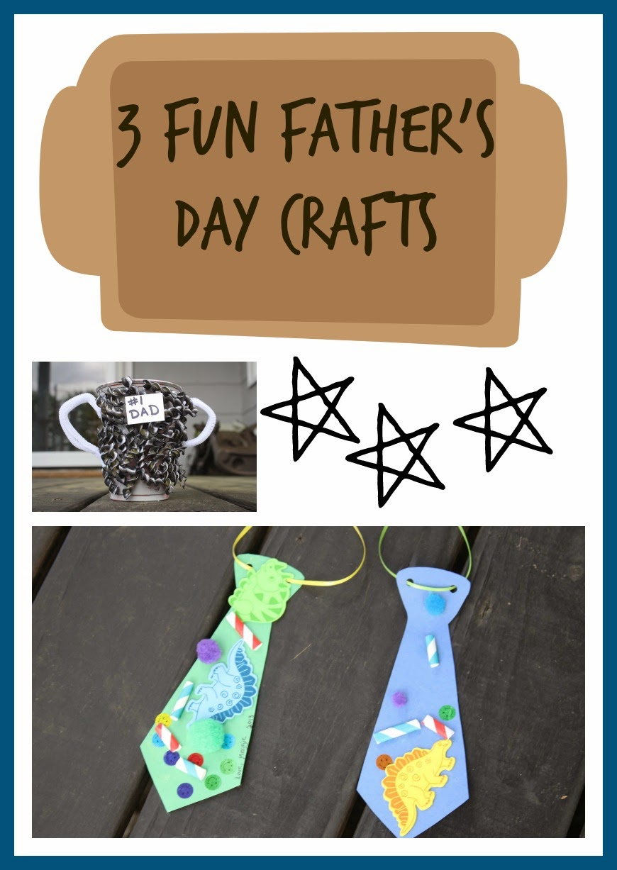 Father's Day Craft Ideas || The Chirping Moms