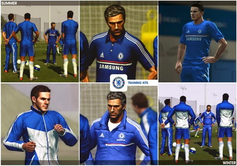 PES 2013 - Pack Football Life - Chelsea Football Club by Nilton1248