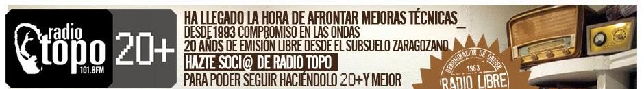 COLABORA CON RADIO TOPO !!