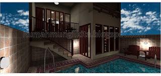 kolam renang mungil