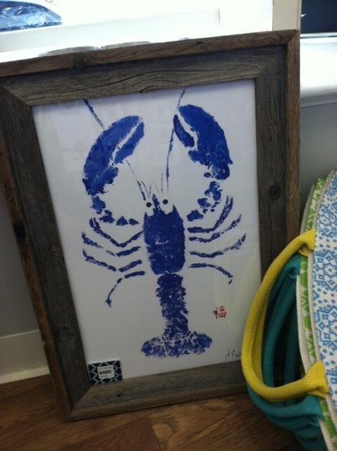 lobster art