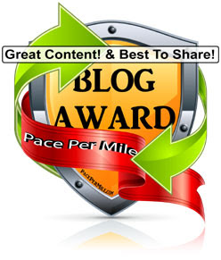 Pace Per Mile Blog Award