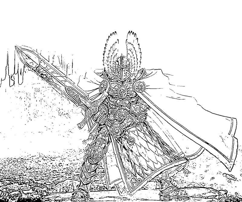 printable-might-and-magic-heroes-best-angel_coloring-pages