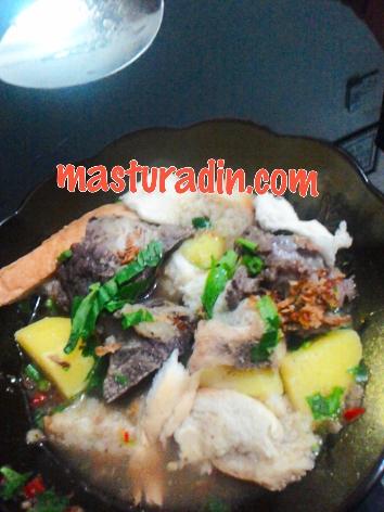 resepi sup tulang mudah, resepi simple, resepi tanpa minyak, airtangan bonda