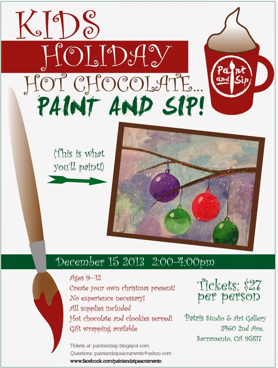 Patris studio and art gallery for Sip and paint