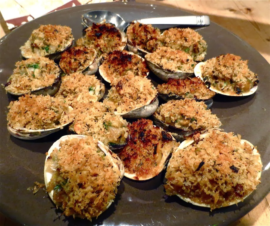 Baked stuffed clams recipes - baked stuffed clams recipe