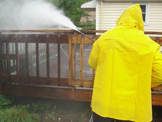 Cleaning decks Long Island NY