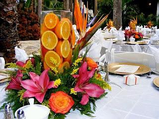 Centros de Mesa con Naranjas, parte 1