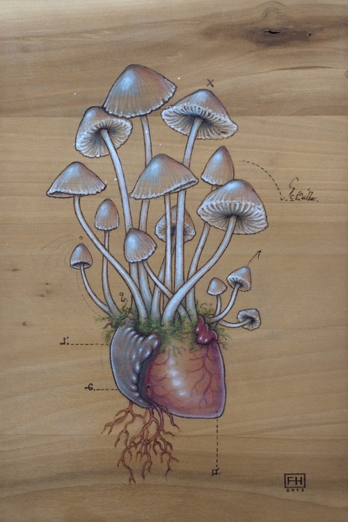 24-Psilocybin-Mushroom-Heart-Fay-Helfer-Pyrography-Game-of-Thrones-and-other-Paintings-www-designstack-co