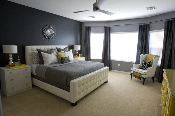 Stunning Chambre Gris Fonce Et Blanc Pictures - Yourmentor.info ...