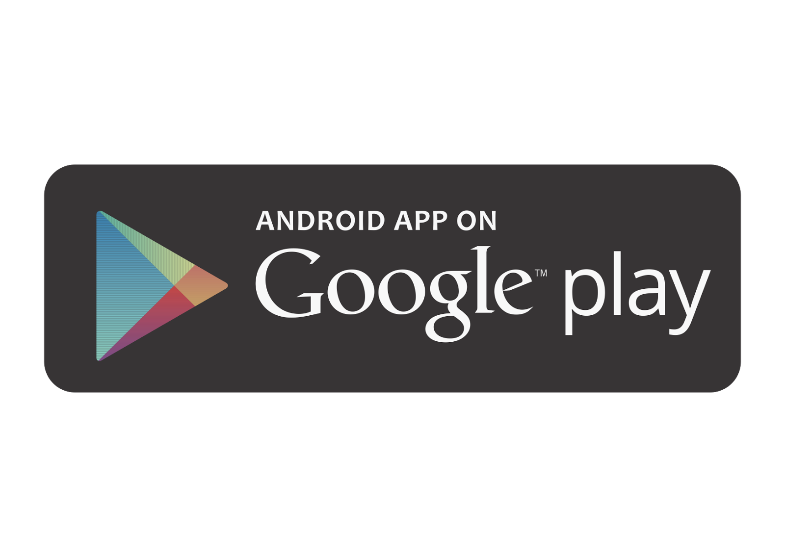 android app on google play logo vector format cdr ai