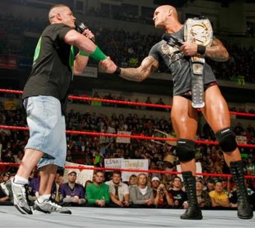 Wwe 2012 Randy Orton vs John Cena John Cena vs Randy Orton | Wwe