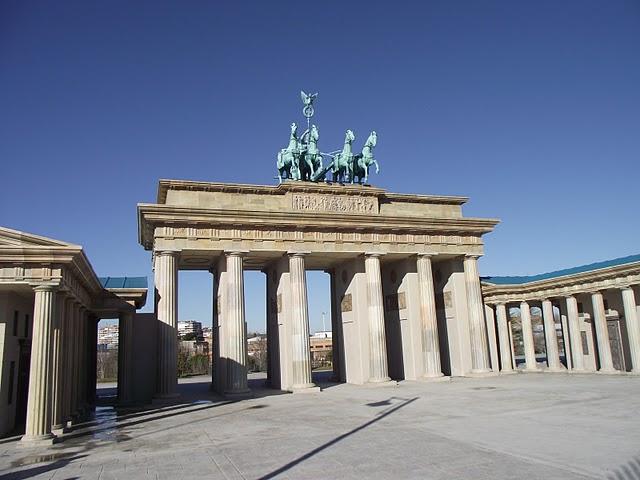 foto de la Puerta de Brandenburgo