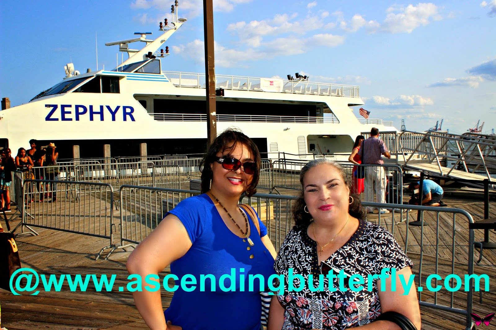 beautypress spotlight day in New York City aboard Zephyr Yacht August 2014