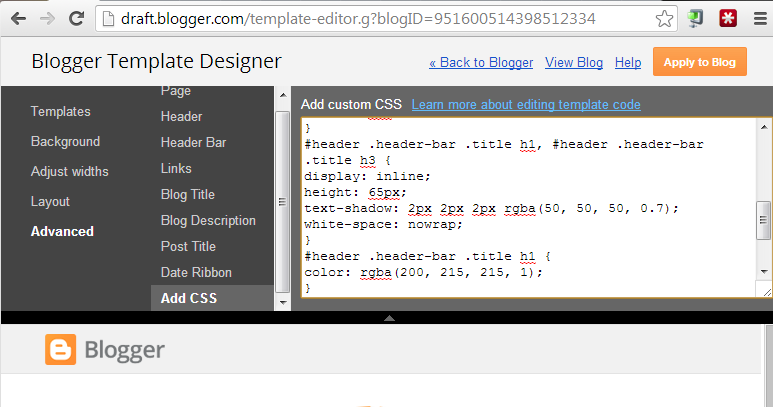 blogger dynamic view templates fix slow animations add html code