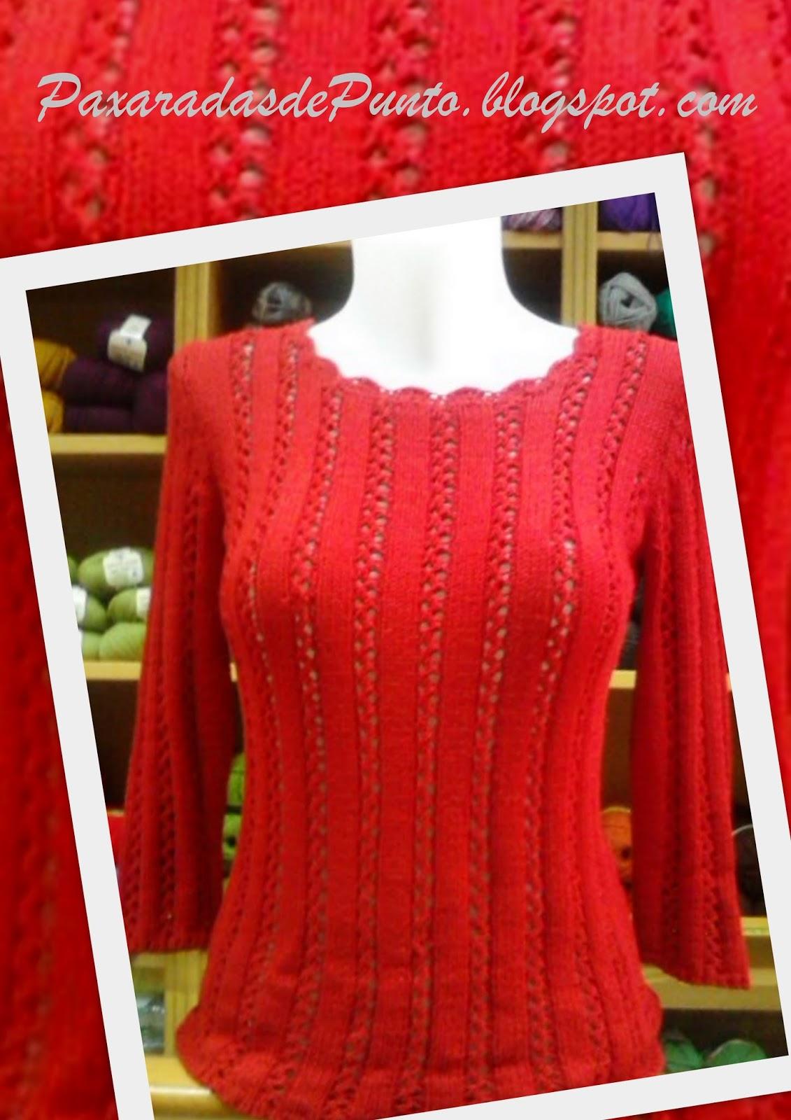 Paxaradas de punto mujer - Como hacer un jersey de punto ...